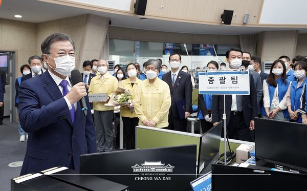 Korea's Public Trust Rises Amid the Pandemic